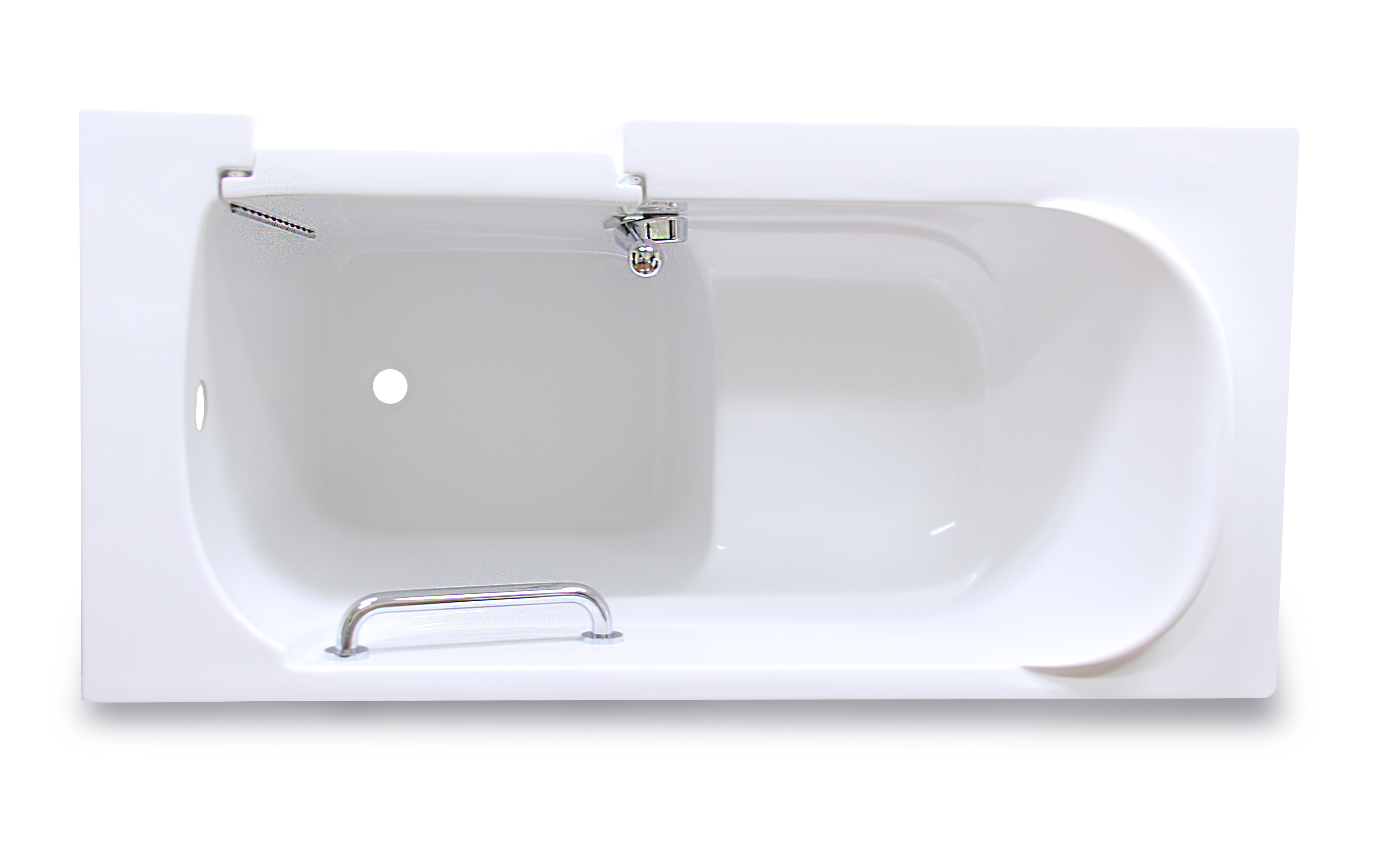 American Tubs CARE Series 2653 Hydro Massage Soaker Walk-in Tub ...